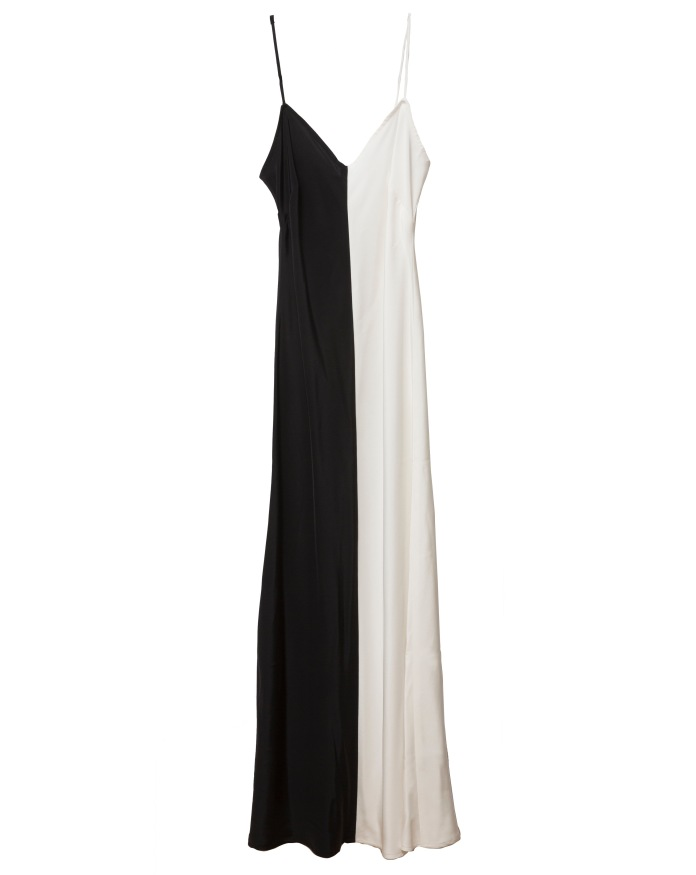 Black & White Slip Dress. Kamila Dmowska (1)