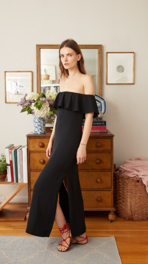 Francesca black dress Kamila Dmowska